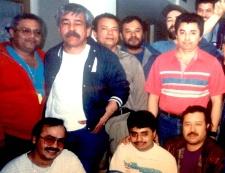 Danny with Uretek workers