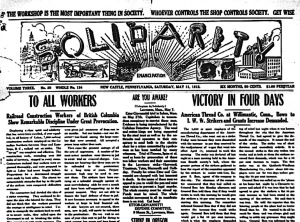 News of the victory in the IWW's Solidarity.